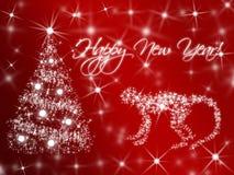 新年Simbol由中国日历的2016年 红色火热的猴子 免版税库存图片