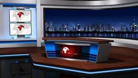 新闻studio_056 影视素材