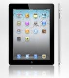 新3个苹果的ipad 库存照片