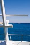 新boat de diving的标题 免版税库存照片