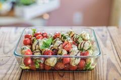 新caprese沙拉食谱 库存照片