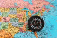 方向东部对美国 免版税库存照片