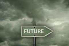 方向未来 免版税库存照片