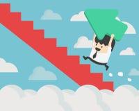 方向的变动 企业概念传染媒介例证& PR 向量例证