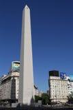 方尖碑在布宜诺斯艾利斯 免版税图库摄影