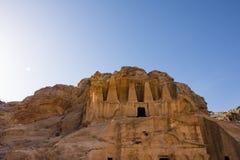 方尖碑坟茔, Petra 免版税库存图片