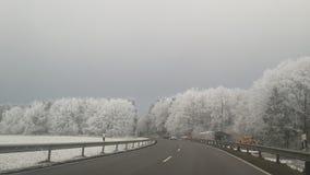 方式冬天 库存照片