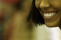 方式微笑 免版税库存照片