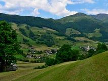 在Lessach的奥地利阿尔卑斯外型 免版税库存图片