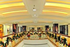 方式结构购物中心,香港 免版税库存照片