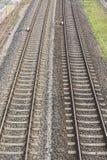 方式转接铁路 图库摄影