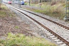 方式转接铁路 免版税库存照片