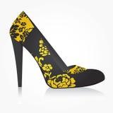 方式鞋子向量妇女 图库摄影