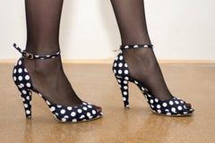 方式鞋子 免版税图库摄影
