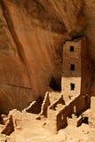 方形塔之家, Mesa Verde国家公园 免版税库存照片