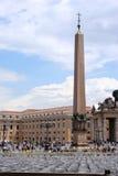 方形梵蒂冈 库存照片