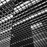 方形的反射的抽象图片 免版税图库摄影
