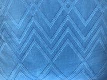方形的在充分的框架的样式蓝色织品 免版税库存照片