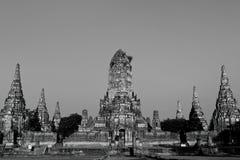 方形的寺庙 库存图片