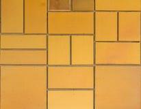 方形的形状水泥墙壁纹理 免版税库存照片