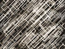 方形的抽象背景 免版税库存图片