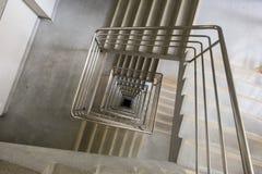 方形的楼梯 免版税库存图片