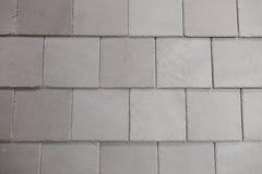 方形的灰色建筑材料 免版税库存图片