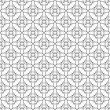 方形的玫瑰华饰无缝的样式 库存图片