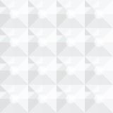 方形的白色几何抽象样式 免版税库存照片