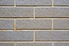 方形的砖块背景和纹理 免版税库存照片