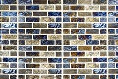 方形的砖块背景和纹理 库存照片