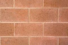 方形的砖墙背景和纹理 库存照片