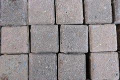 方形的砖 免版税图库摄影