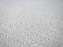 方形的路面瓦片 免版税库存照片