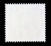 方形的邮政邮票形状 免版税库存照片