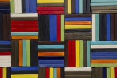 方形的颜色背景 免版税库存照片