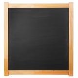 方形的黑板 免版税库存照片
