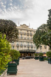 从方形的Beaumarchais的旅馆偏僻寺院 免版税库存照片