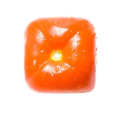 方形蕃茄 免版税图库摄影