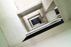 方形隧道 免版税库存图片