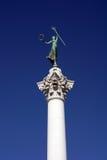 方形雕象联合胜利 免版税库存图片