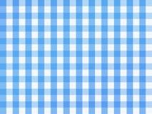 方格巴法力亚的蓝色 免版税库存照片
