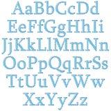 方格的字母表 图库摄影