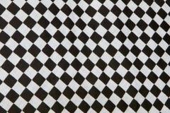 方格的旗子 免版税库存照片