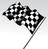 方格的旗子 免版税库存图片