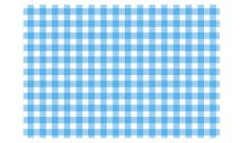 方格的桌布的样式在颜色 向量例证
