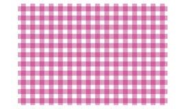 方格的桌布的样式在颜色 库存例证
