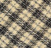 方格的织品 免版税库存照片