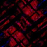 方格的水彩背景 免版税库存图片