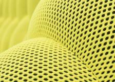 方格色的黄色抽象背景的滤网 库存照片